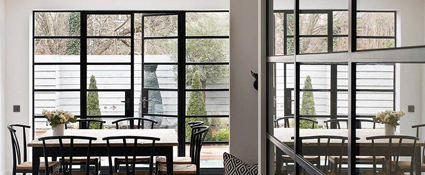 Steel Look Windows In Nottingham And Leicester D&M Windows