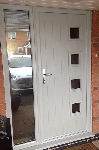 Composite Front Door Painswick Milano, East Leake