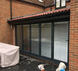 Aluminium Bi-Fold Doors Grey, Keyworth, Nottingham