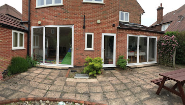 Aluminium Bi-Fold, White, West Bridgford, Nottingham