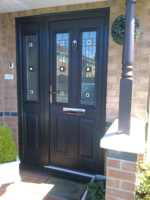 Composite Door, Ludlow Grey, West Bridgford, 132