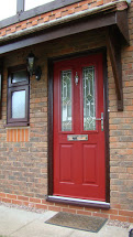 Composite Door, Red Ludlow, Nottingham, 142