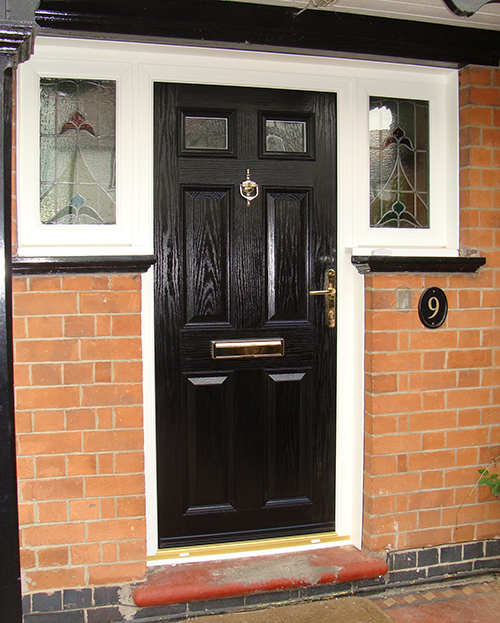 Composite Door, Black Tenby, Nottingham, 080