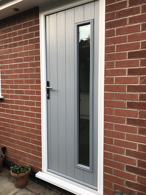 Composite Door, French Grey Bressica, Radcliffe on Trent, 041