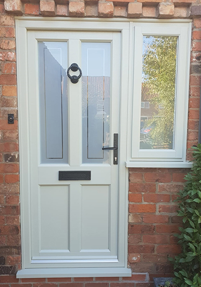 uPVC Rear Door Evo Ashwell Agate Grey