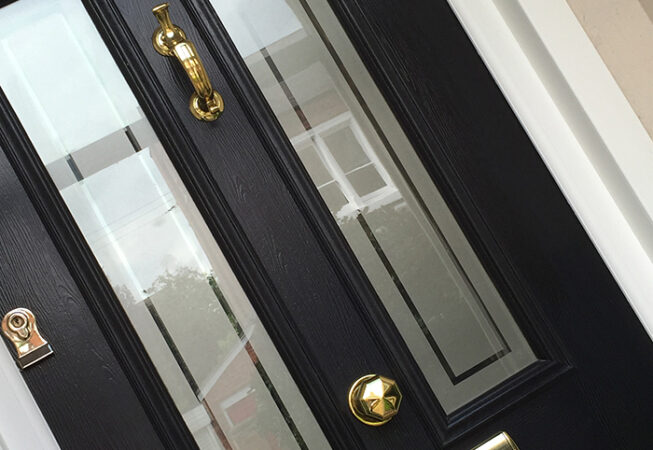 Composite Door, Blue Ludlow, West Bridgford, D&M, 154