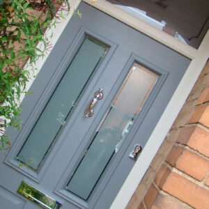 Composite Door, French Grey Ludlow, House Number, West Bridgford, 147