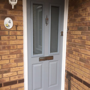 Composite Door, French Grey Ludlow, Nottingham, 157