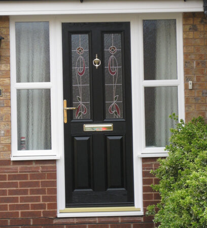 Composite Door, Ludlow Black, West Bridgford, Nottingham, D&M, 164