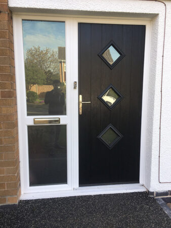 Composite Door, Schwartzbraun Black Bressica, Nottingham, D&M, 173