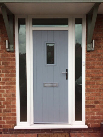 Composite Door, French Grey Flint, Ruddington, Nottingham, D&M, 150