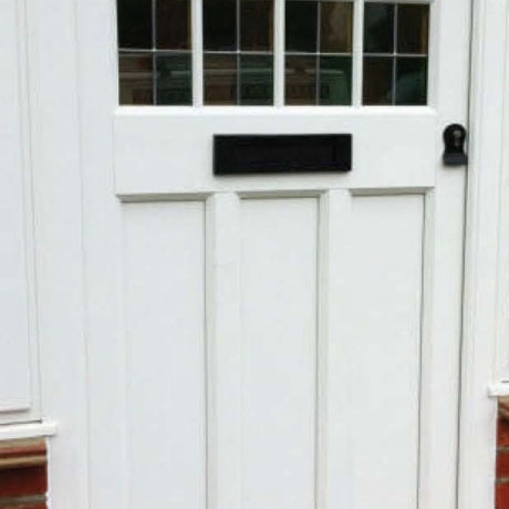 uPVC Door, Evo, Boxmoor, Front Door, White, Nottingham, D&M, 127