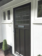 uPVC Door, Evo Tewin, Black, Keyworth, D&M, 117