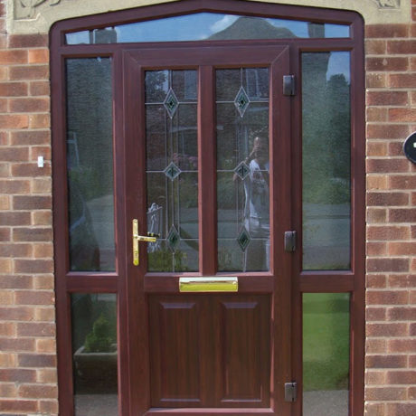 uPVC Door, Rosewood Colours, Nottingham, D&M, 120