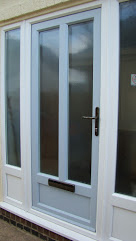uPVC Door, Sky blue, Nottingham, D&M, 119