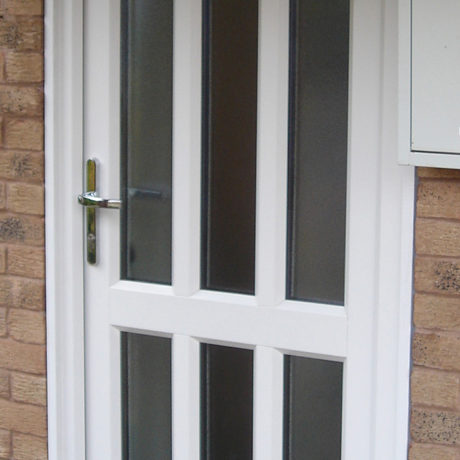 uPVC Door, White, Nottingham, D&M, 147