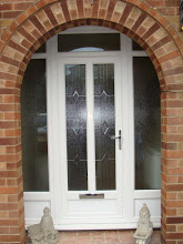 uPVC Door, White, West Bridgford, 123