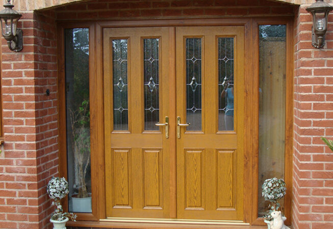 French Door, Composite Oak, Nottingham, D&M, 001