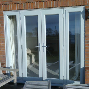 French Door, Evo, Agate Grey, Dummy Side Panels, Nottingham, 013