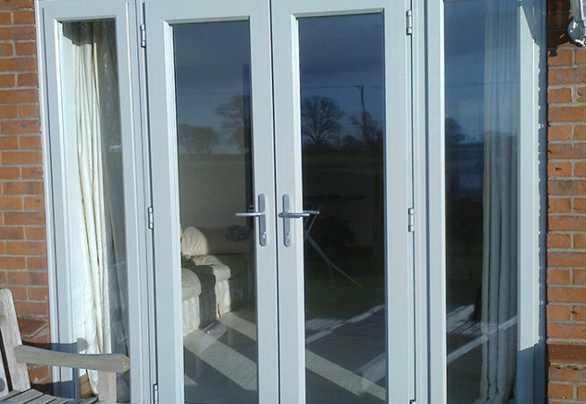 French Door, Evo, Agate Grey, Dummy Side Panels, Nottingham, D&M, 013