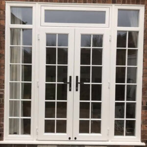 French Door, Evo, White Toplight, Georgina, Nottingham, 014