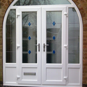 French Door, White, Arch, Nottingham, 004