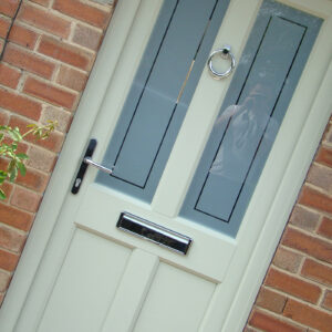 uPVC Front Door, Evo Ashwell, Agate Grey, Leicester, 108
