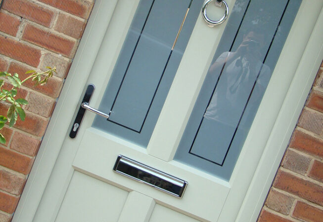 uPVC Front Door, Evo, Ashwell, Agate Grey, Leicester, D&M, 108