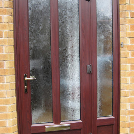 uPVC Front Door, Rosewood, Nottingham, D&M, 137