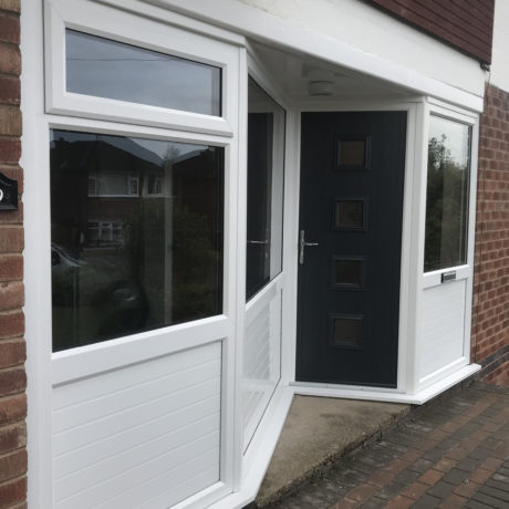 Porch, Black Parma 4, Leicester, D&M, 001