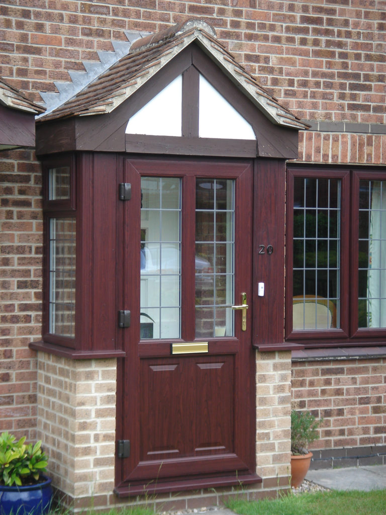 Porch Rosewood East Leake D&M 012