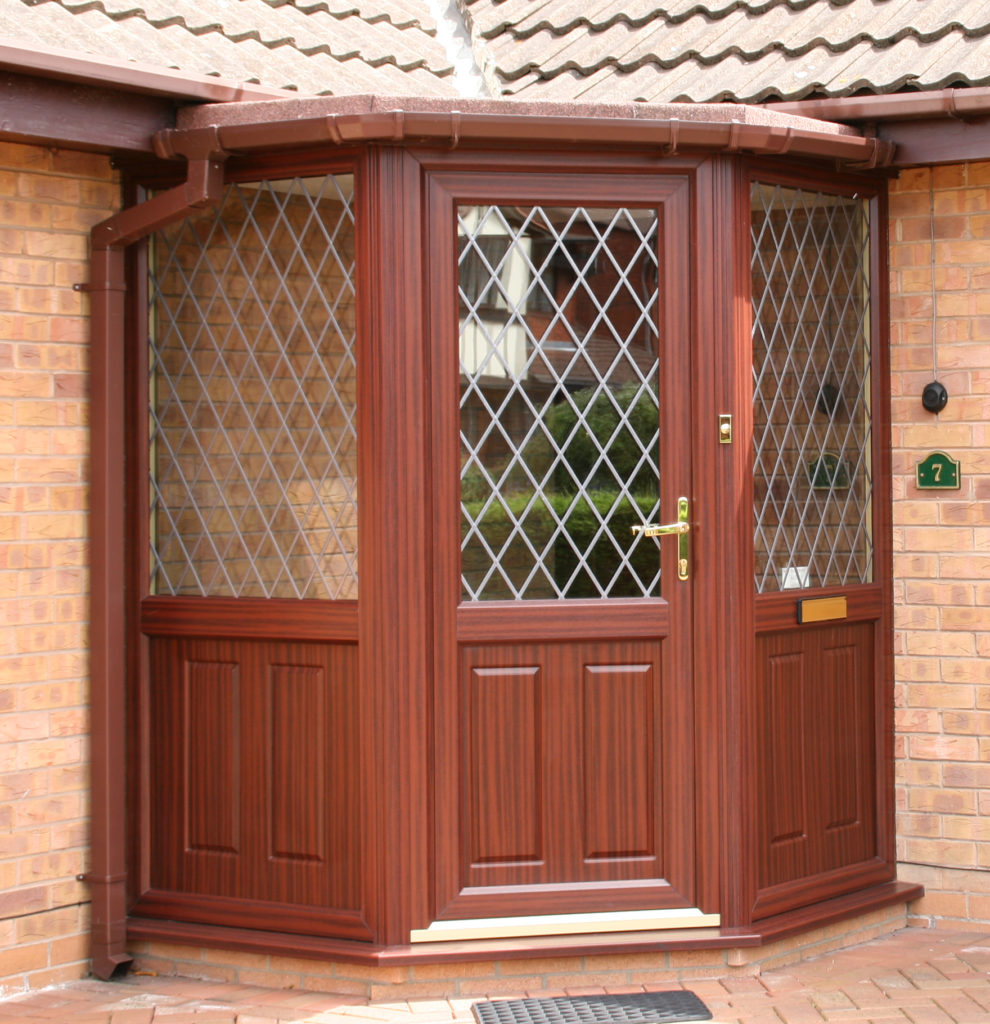 Porch, Rosewood, Leaded Diamonds, Nottingham, 005