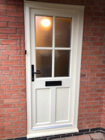 uPVC Door, Evo, Ashwell, Front Door, White, Georgian, Nottingham, D&M, 102