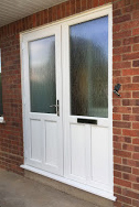 uPVC Door, White, Keyworth, D&M, 122