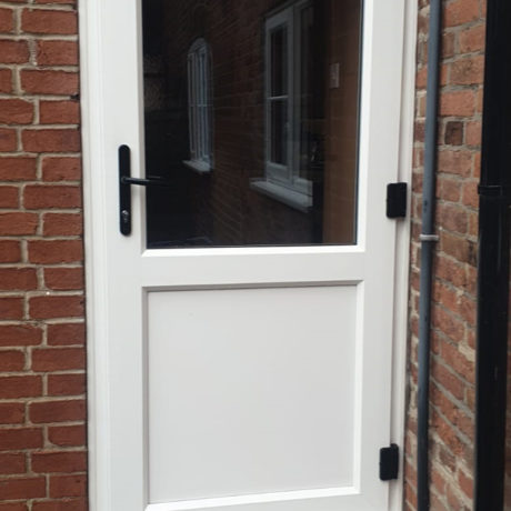 uPVC Door, White, Outward-Opening, Nottingham, D&M, 104
