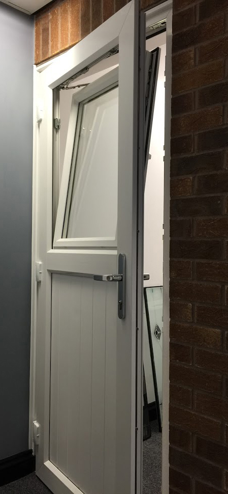uPVC Door, White With Tiltnturn, Nottingham, D&M, 150