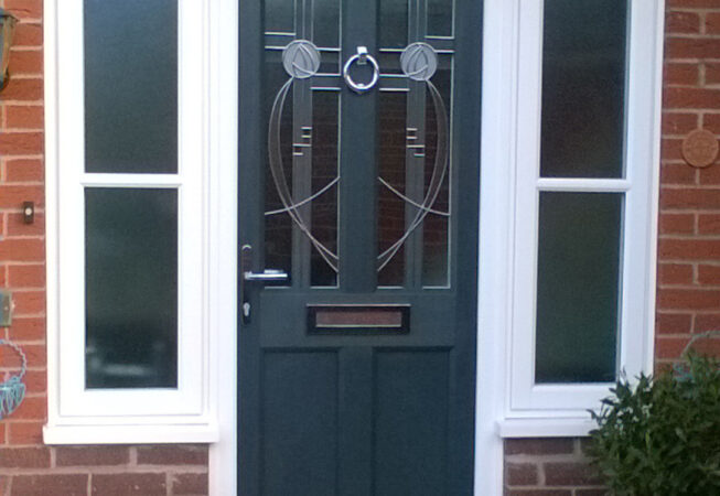 uPVC Front Door, Evo, Ashwell, Grey, Leicester, D&M, 111
