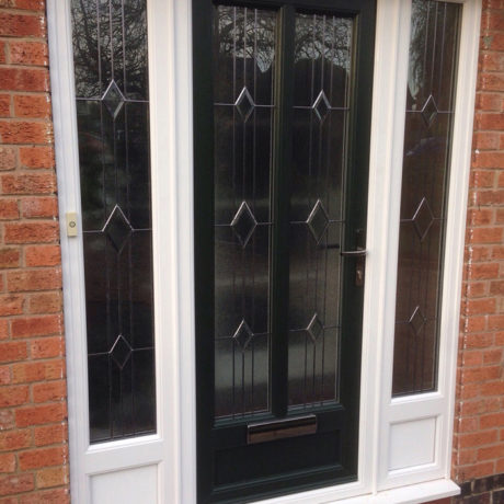 uPVC Front Door, Green Suffolk, Costock, D&M, 103