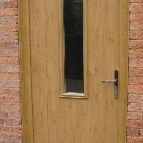 uPVC Front Door, Oak, Panelled Door, Nottingham, D&M, 135