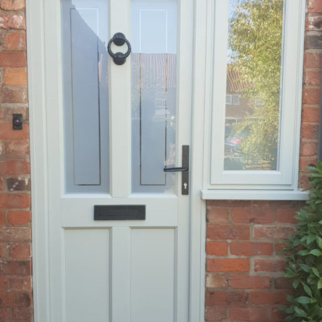 uPVC Rear Door, Evo, Ashwell, Agate Grey, Nottingham, D&M, 141