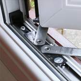 uPvc window high security hinges