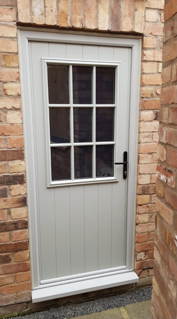 Composite Stable Door Georgian Painswick Leicester D&M 237
