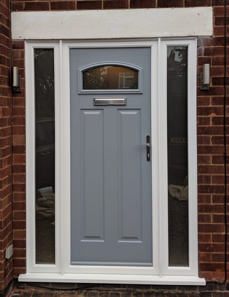 Composite door frenchgrey London Keyworth D&M 021