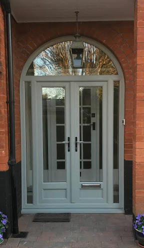 Frenchdoor Arch AgateGrey Nottingham D&M 019