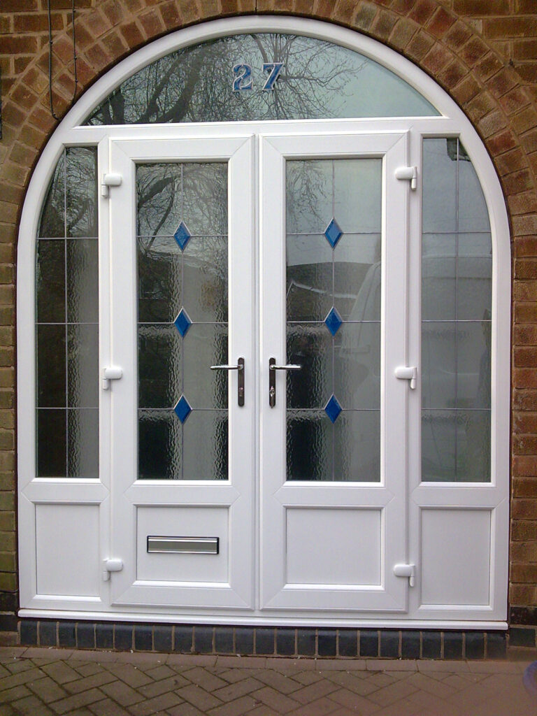 Frenchdoor White Arch Nottingham D&M 004