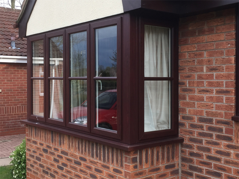 uPVC Bay Rosewood Storm2 Evolution East Leake Leicester D&M 504