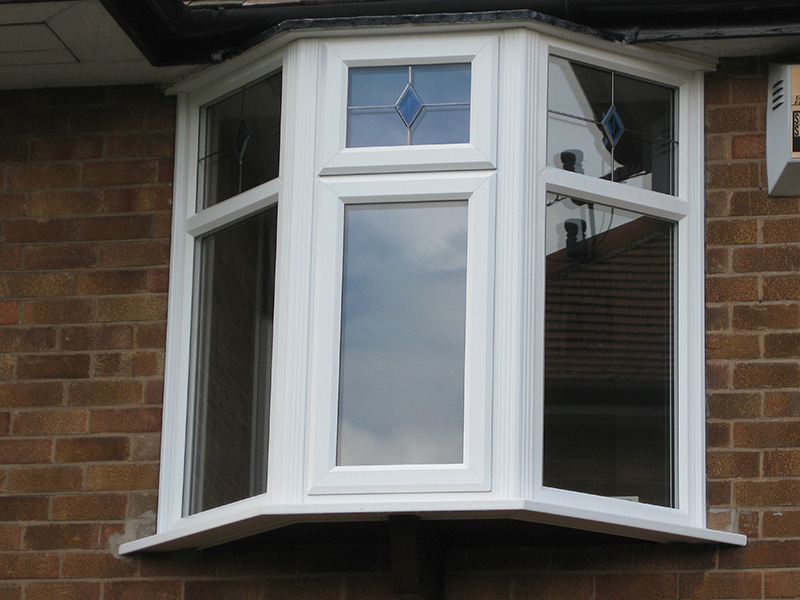 uPVC Bay Smooth White Leads Tollerton Nottingham 508