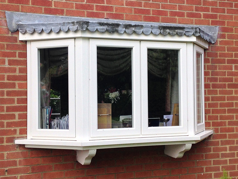 uPVC Bay White Foiled Evolution Storm2 Leicester 511